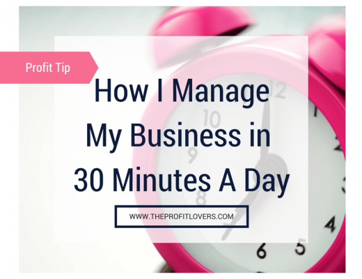 How I mange my business in 30 minutes per day social media sq