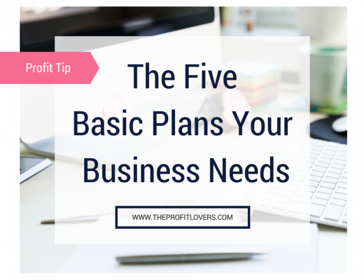 The Five Basic Plans Your Business Needs