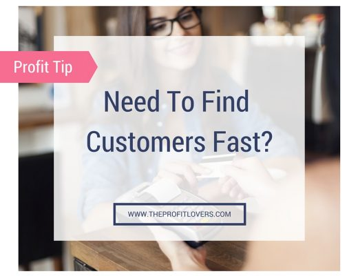 Need to find customers fast sq